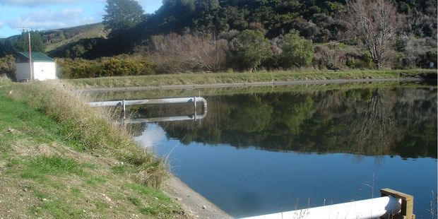 Eketahuna's wastewater treatment plant, accessed from Bridge St. PHOTO/FILE