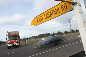 A notorious blackspot, the intersection of East Taratahi Rd, SH2 and Wiltons Rd is going to get electronic warning signage installed to help side traffic get onto the highway.