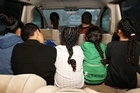 A family of eight have been living in a van for six months.