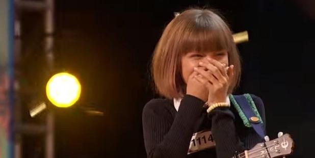 Loading Grace VanderWaal is in shock over earning a standing ovation on America's Got Talent.