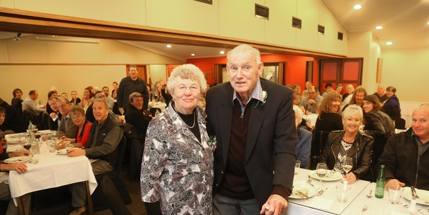 DIAMONDS: Elsie and Barry Leslie celebrated their special anniversary in Whanganui on Saturday.PHOTO/BEVAN CONLEY