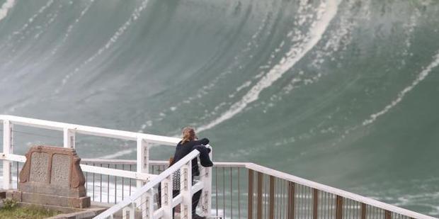 Massive waves pummelled the Sydney coast this week, causing widespread devastation. Photo / News Corp