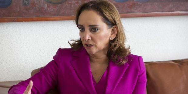 Claudia Ruiz Massieu, Mexico's minister of foreign affairs. Photo / Bloomberg, Susana Gonzalez.