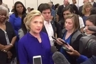 Speaking to reporters while campaigning on Monday, Clinton said while she is going to continue to do everything she can to get people out to vote, she looks forward to campaigning with President Obama