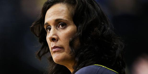 Mystics coach Debbie Fuller. Photo / Getty