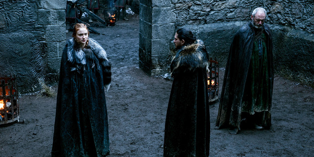Sansa, Jon, and Davos seek for people to fight alongside them on.