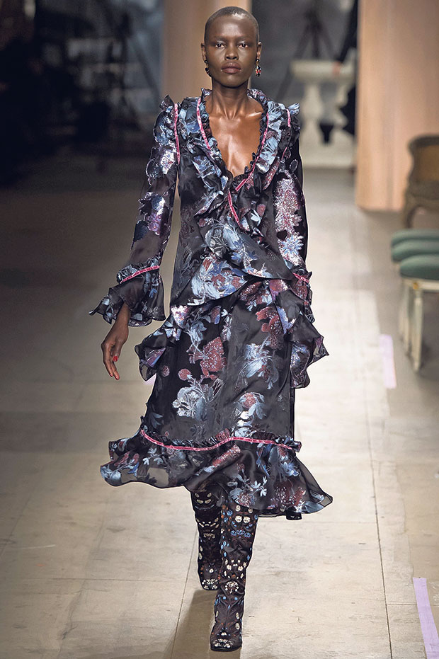 Erdem, fall 2016 collection.