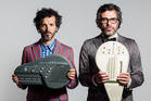 Flight of the Conchords' Bret McKenzie and Jemaine Clement. (Supplied)