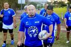 Fredy Arteaga-Figueroa is El Salvador's captain-coach. Photo / Mark Evans, News Corp Australia