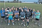 MODEL CITIZENS: Hawke's Bay - Education, the Bay's newest rugby team comprising teachers and principals from 26 primary and secondary schools.