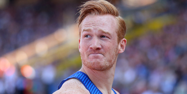 Greg Rutherford. Photo / Getty