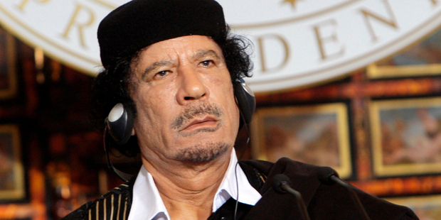 Libya's late former leader Muammar Gaddafi is now part of the US presidential race. Photo / iStock