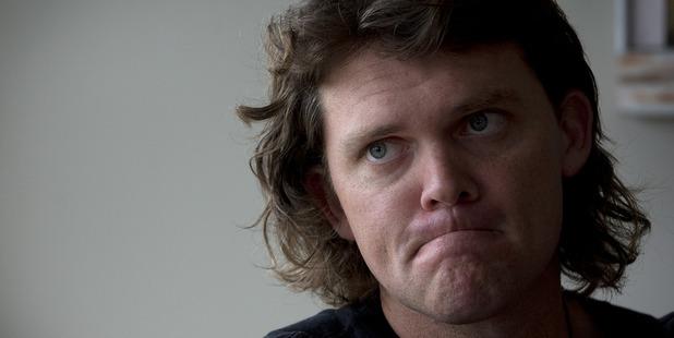 Former New Zealand cricketer Lou Vincent. Photo / Brett Phibbs