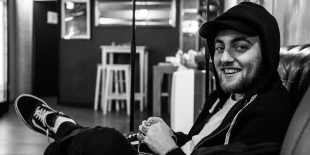 Mac Miller takes on Donald Trump once again. Photo / Instagram