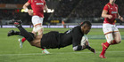 View: All Blacks v Wales, 1st test