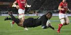 View: All Blacks v Wales, 1st test