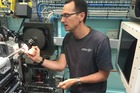 Kiwi researcher Dr Tom Caradoc-Davies, a principal scientist in macromolecular crystallography based at the synchrotron. Photo / Jamie Morton
