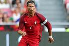 Portugal's Cristiano Ronaldo. Photo / AP