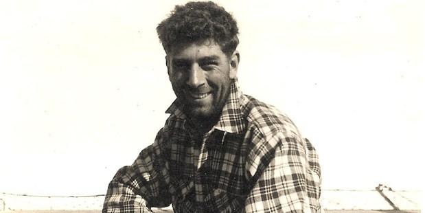 Christchurch mountaineer John Harrison in 1958-59. Photo / Supplied