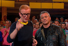 Not funny enough? Top Gear hosts Chris Evans and Matt LeBlanc. Photo / BBC
