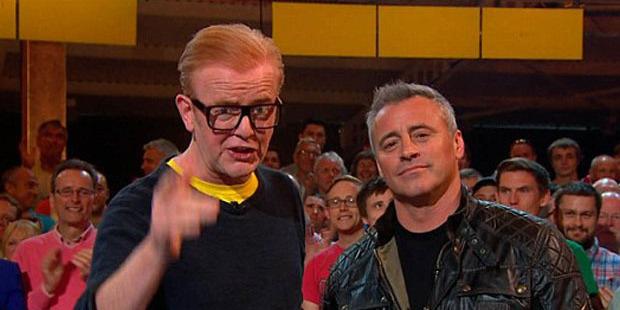 Not funny enough? Top Gear hosts Chris Evans and Matt LeBlanc. Photo / BBC