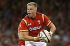 Gareth Anscombe of Wales. Photo / Getty Images
