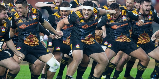 Loading The Chiefs usually perform a haka after claiming important victories.