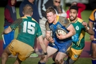 Nick Evemy is a key attacking weapon for Tauranga Sports.