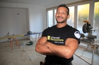 Steve Kirby, 41, has changed careers, prompted by his baby son's housing prospects in future years. Photo / Supplied