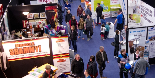 FAMILY FUN: The Rotorua Daily Post Home and Leisure Show is back this year. PHOTO/FILE