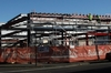 CHANGING WITH THE TIMES: Construction on a new $5.5 million Napier police station is progressing well. PHOTO/PAUL TAYLOR
