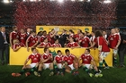 The British and Irish Lions will be hoping for more success like this when they arrive in Whangarei next year. Photo / Getty Images