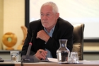 STEPPED AWAY: HBRIC board chairman Andy Pearce stepped away from the meeting on his report. PHOTO/FILE