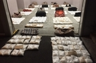 The staggering haul of methamphetamine captured in Northland.