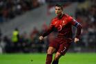 Cristiano Ronaldo of Portugal. Photo / AP
