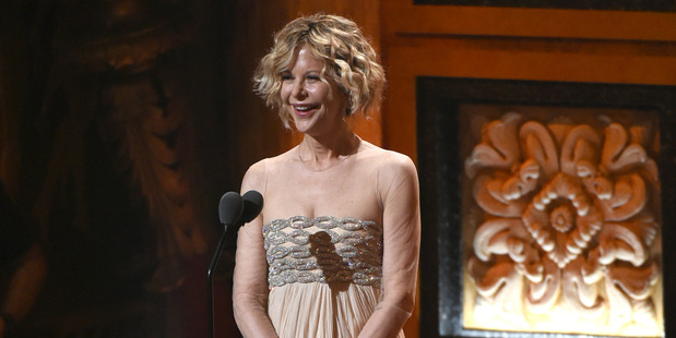 Meg Ryan shocked the Tony Awards with her 'new look'. Photo / AP