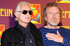 Jimmy Page and Robert Plant have denied lifting a portion of Spirit's Taurus for Led Zeppelin's hit Stairway to Heaven. Photo/AP