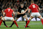 Brodie Retallick of the All Blacks during the International Test match between the New Zealand All Blacks and Wales. Photo / Getty Images.