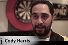 Cody Harris still confidently dreams of a rags-to-riches story which takes him to the top of the darts world.