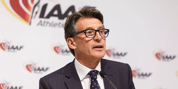 "IAAF President Sebastian Coe said ""Russian athletes could not credibly return to international competition without undermining the confidence of their competitors and the public"". Photo / Getty"