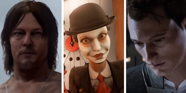 Some of the best and weirdest games from E3 include: Death Stranding, We Happy Few and Detroit: Become Human.