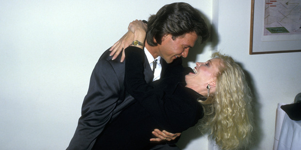 Actor Patrick Swayze and wife Lisa Niemi were widely considered to have one of the strongest marriages in Hollywood. Photo / Getty Images