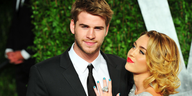 Actor Liam Hemsworth and entertainer Miley Cyrus have rekindled their romance. Photo / Getty Images
