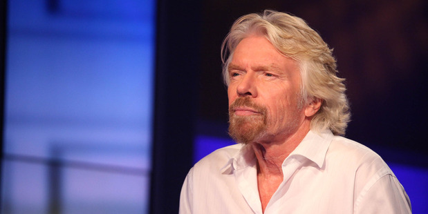 Virgin Group chief executive and founder Sir Richard Branson. Photo / Getty Images