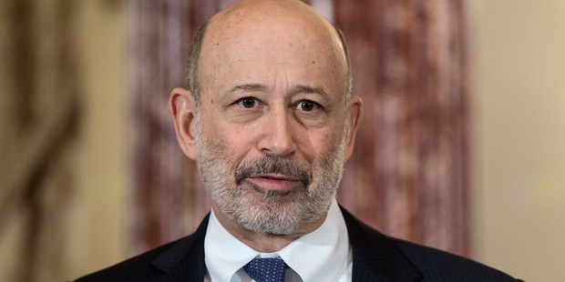 Goldman Sachs CEO and Chairman Lloyd Blankfein. Photo / Getty Images