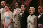 Actor Lin-Manuel Miranda and cast members from the musical Hamilton. Photo / Getty Images