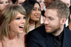 Calvin Harris and Taylor Swift in happier times. The DJ now feels