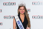 Miss Great Britain Zara Holland. Photo / Getty Images