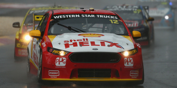 Fabian Coulthard during race three of the V8 Supercars Clipsal 500 at Adelaide. Photo / Getty Images