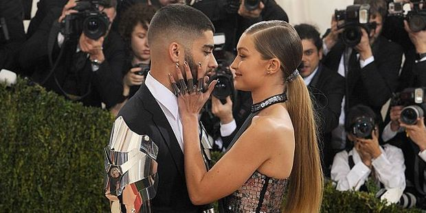 Gigi has taken to Twitter to praise Zayn for his bravery and publicly declare her love for him. Photo / Getty Images